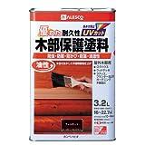 カンペハピオ 油性木部保護塗料 ウォルナット 3.2L