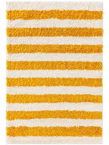 benuta Livone Soho - Alfombra Infantil (80 x 150 cm), Color Amarillo