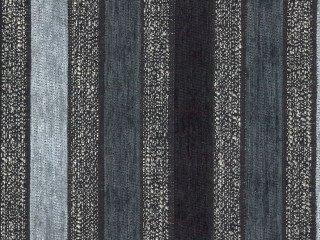 Möbelstoff Stage Streifen Farbe 3083 (grau, hellgrau, dunkelgrau, schwarz) - modernes Chenille-Flachgewebe (gestreift, gemustert), Polsterstoff, Stoff, Bezugsstoff, Eckbank, Couch, Sessel, Hussen, Kissen