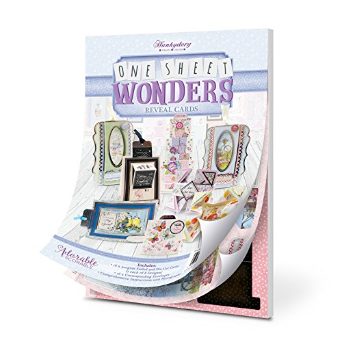 Hunkydory Adorable One Sheet Wonders 16-Card Kit with Envelopes OSW102