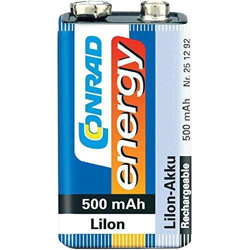 Conrad 251292 Batterie Rechargeable Lithium-ION (Li-ION) 500 mAh 7,2 V - Batteries Rechargeables (500 mAh, Lithium-ION (Li-ION), 7,2 V, Bleu, 1 pièce(s))