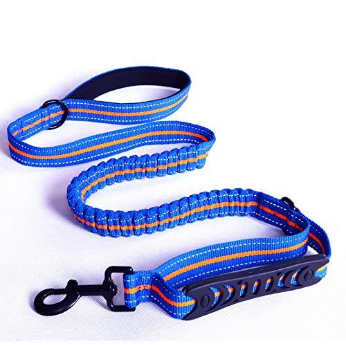 Jogging-Hundeleine,Premium Leine für Kleine und Große Hunde mit Flexi Dämpfung | Robuste Hunde-Leine zum Joggen, Spazieren, Gassi, Fahrrad Fahren,02