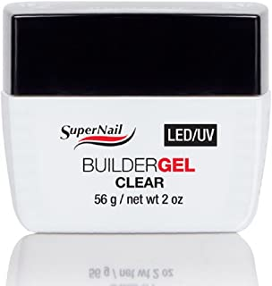 Supernail LED/UV Builder Clear Gel, 2 Fluid Ounce