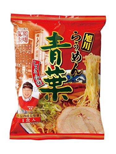 藤原製麺 旭川らぅめん青葉醤油 114g×10袋