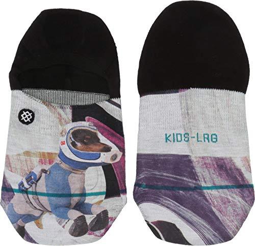 Stance Calcetines unisex para niños Astrodog Kids, Unisex niños, Calcetines infantiles., K115C19AST, negro, medium