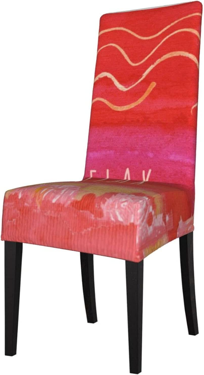 2PCS Super-cheap Stretch Chair Covers for Ranking TOP3 Dining Pink Room Bo Bohemian Relax