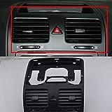 Para MK5 rejilla de ventilación de salida de aire central para tablero delantero, color negro, 1KD 819 72