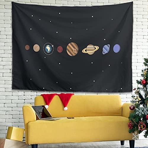 Ballbollbll Planets - Tapiz de rotación yuxtapuesto para colgar en la pared en el hogar, decorar la cama, cama, 101,6 x 149,9 cm