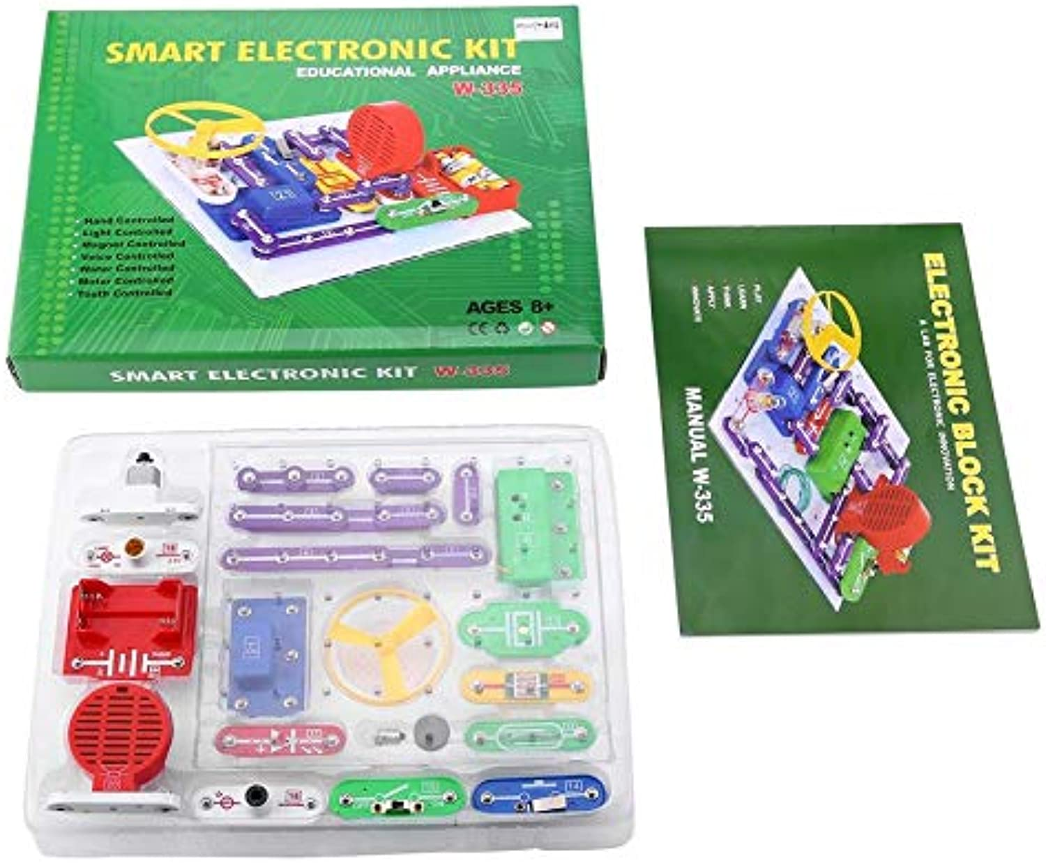 Cheekbone Electronics Toy,DIY Circuits kit for Kids,Educational Science Kit Toy 335