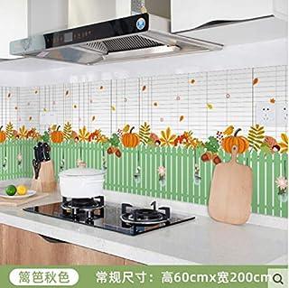 Armoire de papier peint auto-adhésive résistante aux hautes températures pour cuisine armoire à autocollants étanche à l'h...