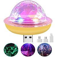 Gexmil Mini USB Party Disco Lights