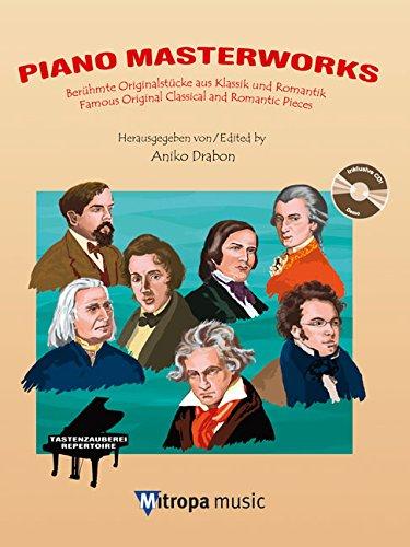 Piano Masterworks: BeruHmte OriginalstuCke Aus Klassik Und Romantik / Famous Original Classical and Romantic Pieces