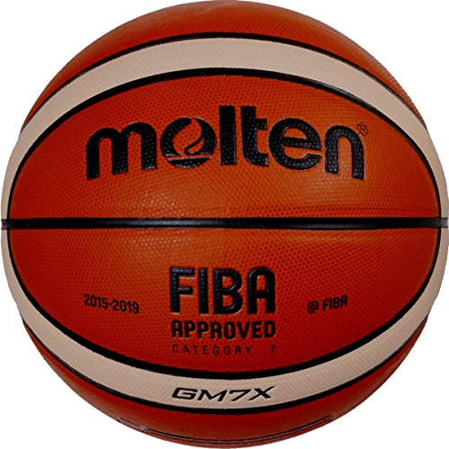 Molten Gm7 Indoor/Outdoor Playing Basketball Match Ball Official Size 7