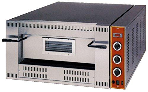 Horno de gas para 6 pizzas, 1000 x 1140 x 470 mm, regulable