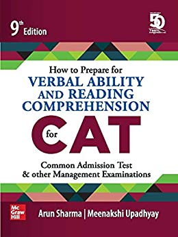 How to Prepare for Verbal Ability and Reading Comprehension for CAT | 9th Edition by [Arun Sharma, Meenakshi Upadhayay]