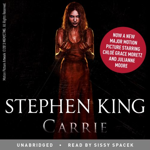 Carrie audiobook cover art