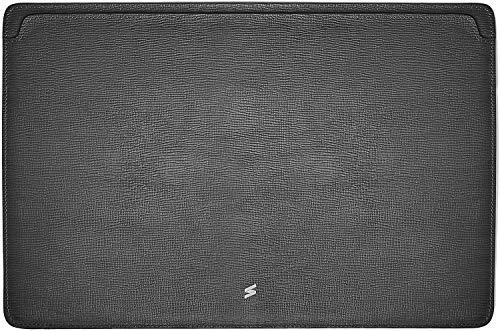 Suritt ® Funda para MacBook de Piel Protectora Corteccia (3 Colores siponibles) (MacBook 16´´, Black)