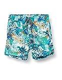 Noppies Baby-Jungen B Swim Shorts Modesto AOP Badehose, Grün (Meadowbrook P462), 74/80 (Herstellergröße: 74-80)