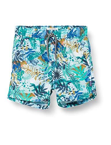 Noppies Baby-Jungen B Swim Shorts Modesto AOP Badehose, Grün (Meadowbrook P462), 86/92 (Herstellergröße: 86-92)