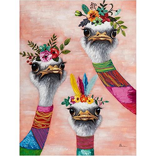 Diamante Pintura Kits,DIY 5D Pájaro de la flor Kit de la Pintura del Arte del Bordado de Diamantes Para Adultos Niños Decoración Arte para hogar 30x40 cm