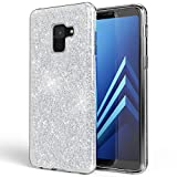 NALIA Glitter Case compatible with Samsung Galaxy A8