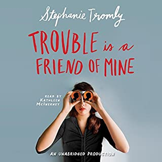 Trouble Is a Friend of Mine audiobook cover art