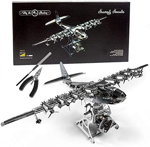 Model Airplane Kit with Tool kit DIY Scale Model 3D Model kit Heavenly Hercules Moving Wind product image