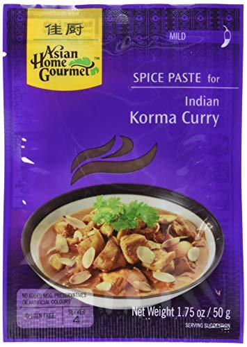 AHG Würzpaste Korma Curry 50g, 12er Pack (12 x 50 g)