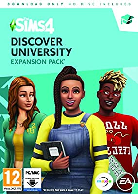 The Sims 4 Discover University (PC Code in Box)