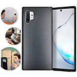 Wingcases for Samsung Galaxy Note 10 Plus Case, 6.8 inches Anti Gravity Magic Suction Stick on The Mirror Window Selfie Cover with Dust Proof Film