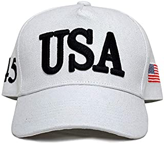 Best usa hat white Reviews
