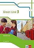 Green Line 3: Workbook mit 2 Audio-CDs Klasse 7 (Green Line. Bundesausgabe ab 2014) -