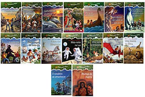 A Casa da Árvore Mágica - coleção completa com 16 livros