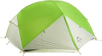 Naturehike Mongar 2-Persoons 20D Ultralichte Siliconen Backpacktent voor Fietsen, Wandelen, Kamperen