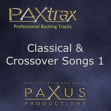 Paxtrax Professional Backing Tracks: Classical & Crossover 1