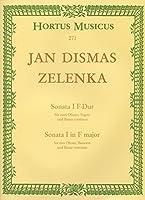 ヤン・ディスマス・ゼレンカ : ソナタ 第一番 ヘ長調 ZWV.181.1 (オーボエ2本、ファゴット、通奏低音) ホルトゥス・ムジクス(ベーレンライター)出版