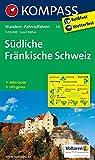 Südliche Fränkische Schweiz: Wanderkarte mit Aktiv Guide und Radwegen. GPS-genau. 1:50000 (KOMPASS-Wanderkarten, Band 171)