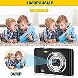 Zoom IMG-1 fotocamera digitale compatte 1080p hd