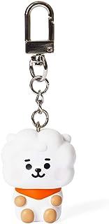 BT21 公式商品 by Line Friends - ベビーシリーズ キャラクター アクションフィギュア キーチェーン リングバッグチャーム