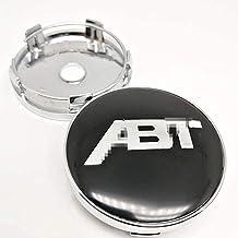 Auto Cache Moyeux, pour ABT SPORTSLINE 60mm Auto Roue Jante Centre Capuchons Décoration Accessoires Antirouille Anti Pouss...