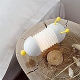 LED Nachtlichter für Kinderzimmer Kinder Nachtlicht Schlafzimmer Cartoon Nachttisch Wandleuchte Caterpillar Beleuchtung Geschenk