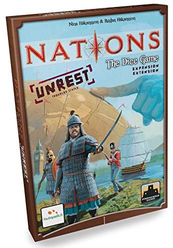 Lautapelit 44 - Nations The Dice Spiel Unrest Expansion