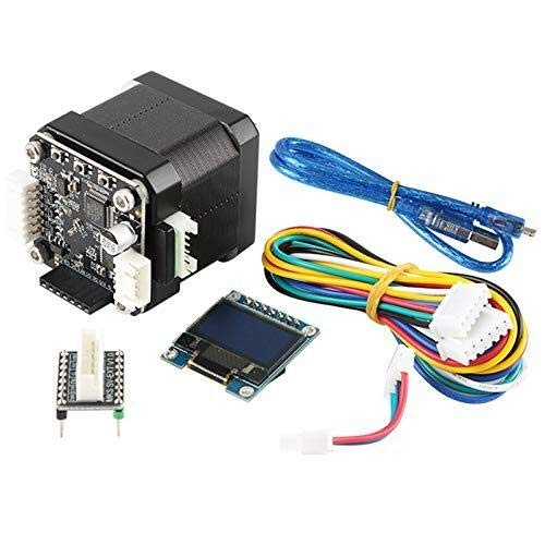 GNLIAN HUAHUA Step Motor Controller STM32 3D Printer Closed Loop Stepper Motor NEMA17 MKS SERVO42B with Plate for MKS Gen Prevent Lose Step During Printing