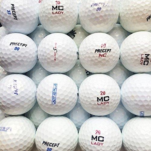 LBC-Sports–100PRECEPT Lady Mix palline da Golf * AAAA/AAA Lakeballs