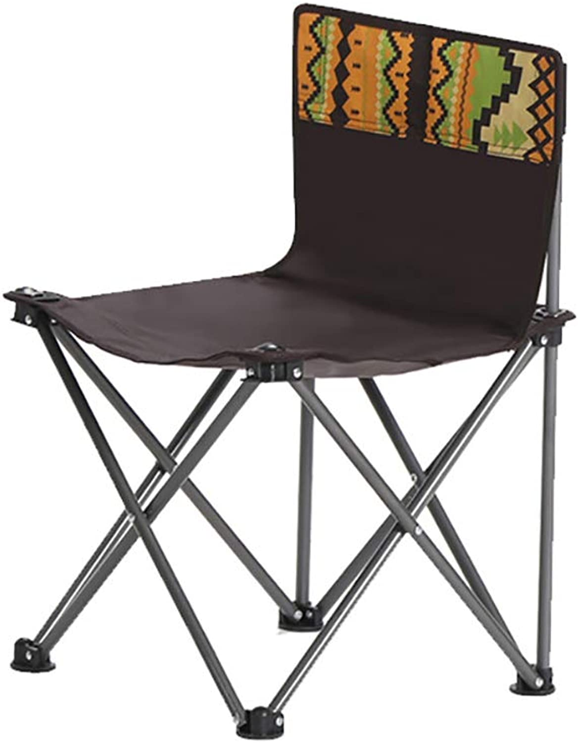 Small Camping Chair, Lightweight Portable Folding Stool with Carry Bag for Mountaineering Adventure Hiking Fishing Beach Picnic Party Gardening