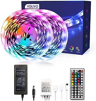 Volivo 2 Rolls of 16.4ft Led Strip Lights