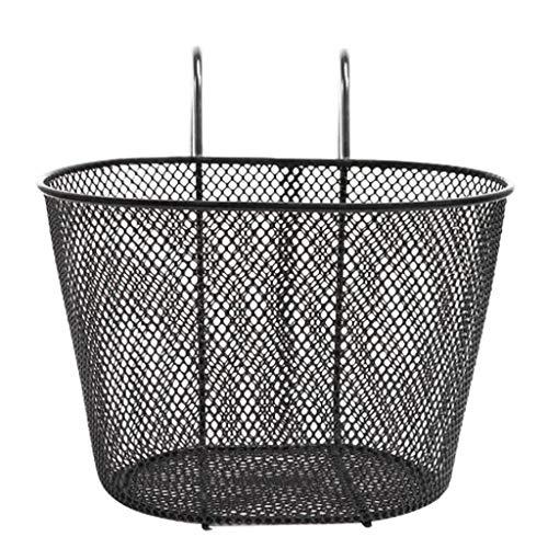 SHYPT 自転車フックバスケット鉄自転車バスケット取り外し可能なハンギングバイクバスケットフロントハンドルバー断熱フロントバイクバスケット収納
