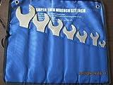 7 pc Piece Super Thin Wrench Set SAE Transmission Brake Hydraulic Spanner