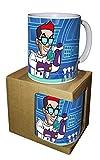 Tazza Mug Sfera Ebbasta Dexter Rapper con scatola - Not Original Merchandising