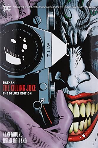Batman: The Killing Joke Deluxe (New Edition): The Deluxe Edition